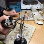 Atelier Aan Twater - Voorbereiding van een ring op maat