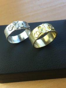Verlovingsringen - goud & zilver